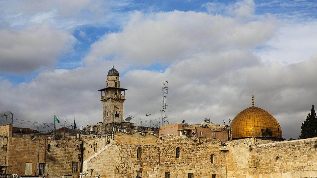 Вид на мечеть Аль-Акса