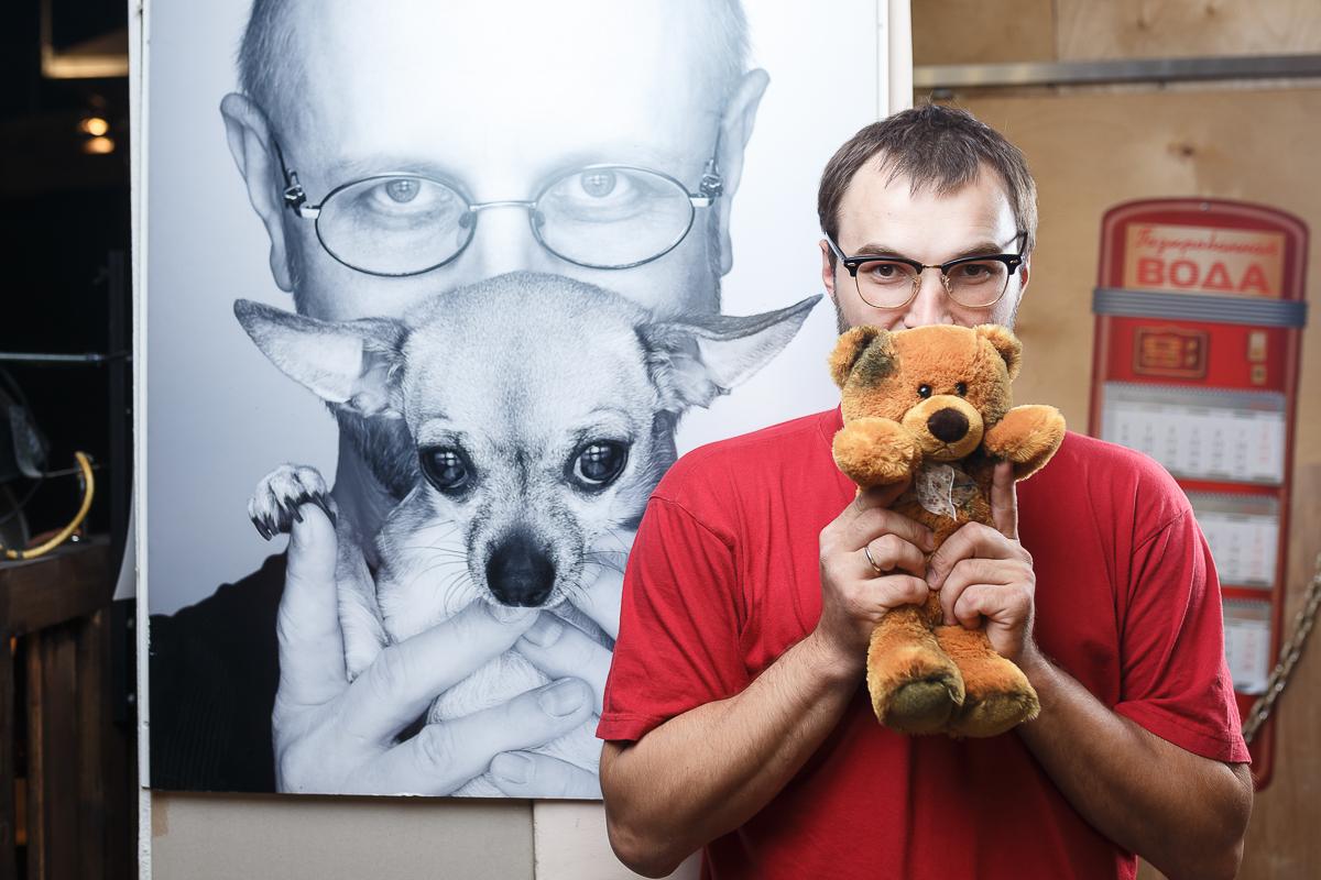 Walker и медведик