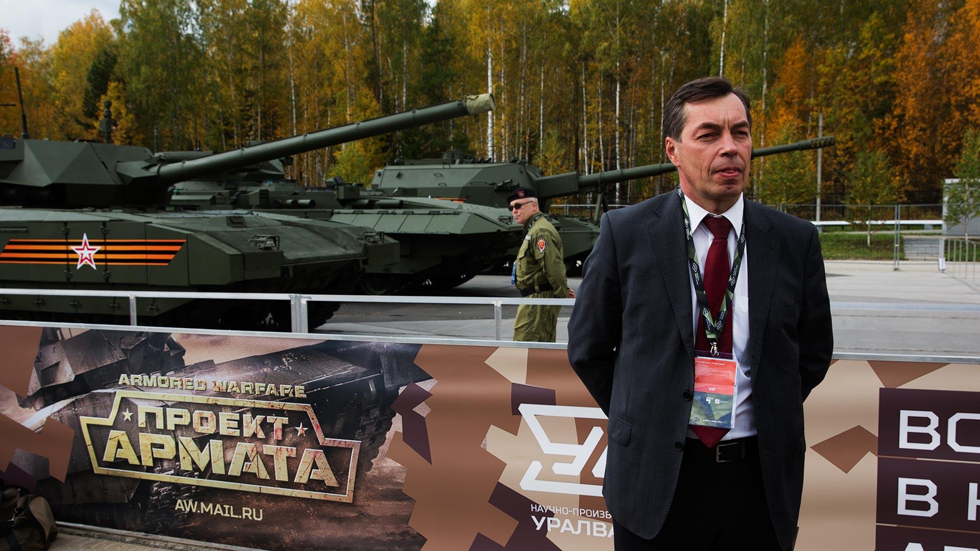 Главный конструктор Арматы Андрей Терликов
