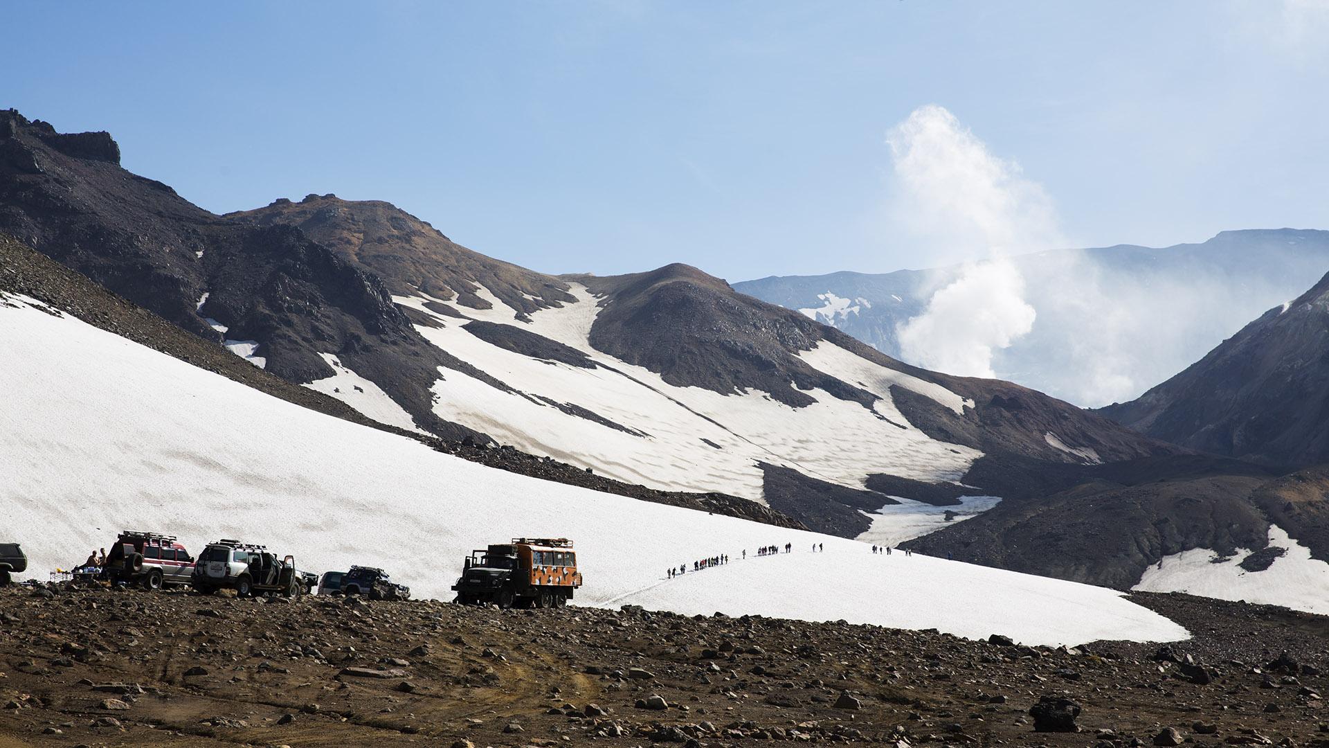 Подножие вулкана Мутновский