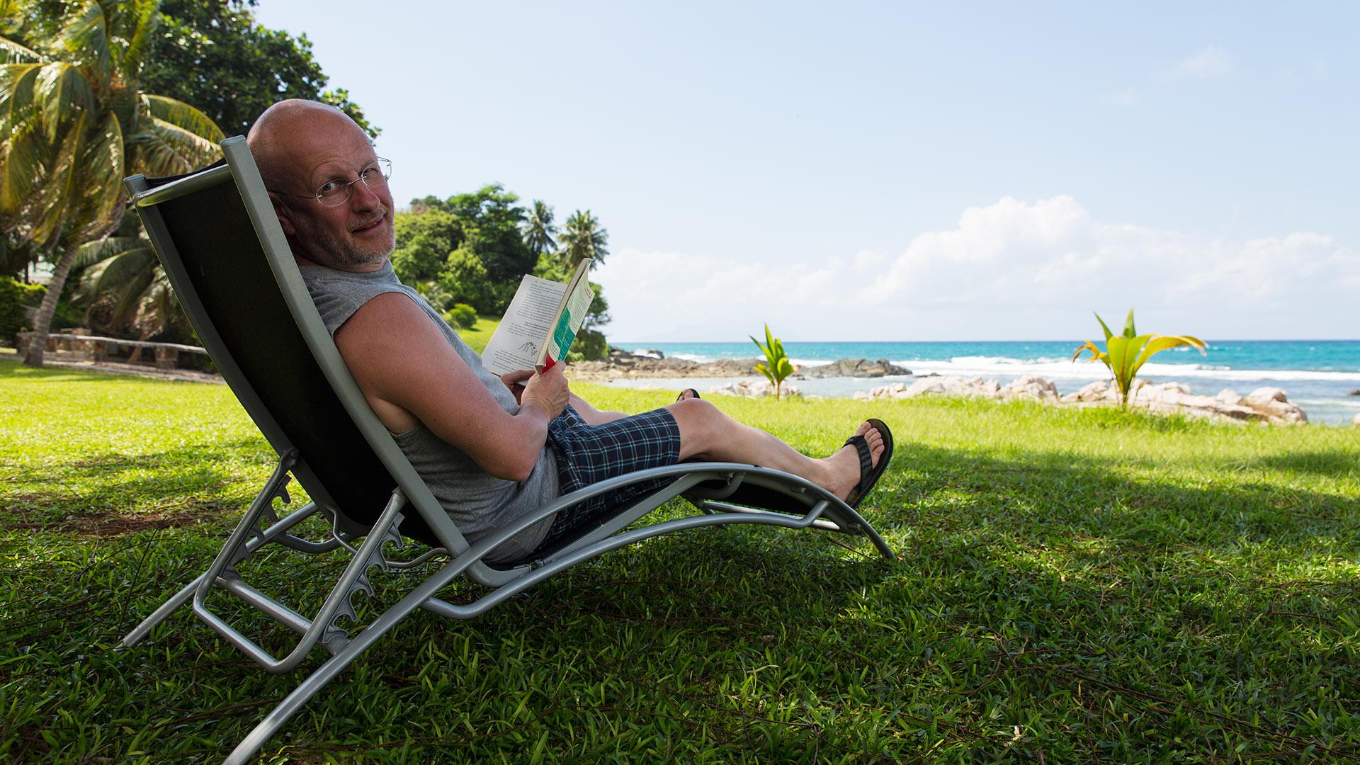 Сейшельский пляж