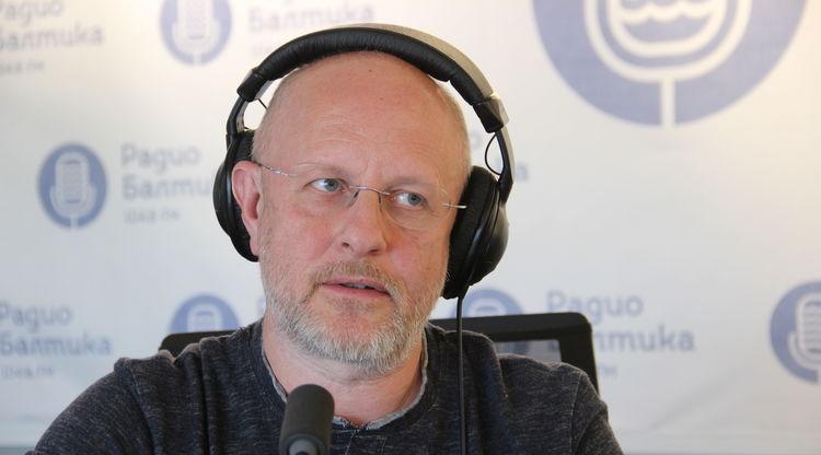 На радио Балтика