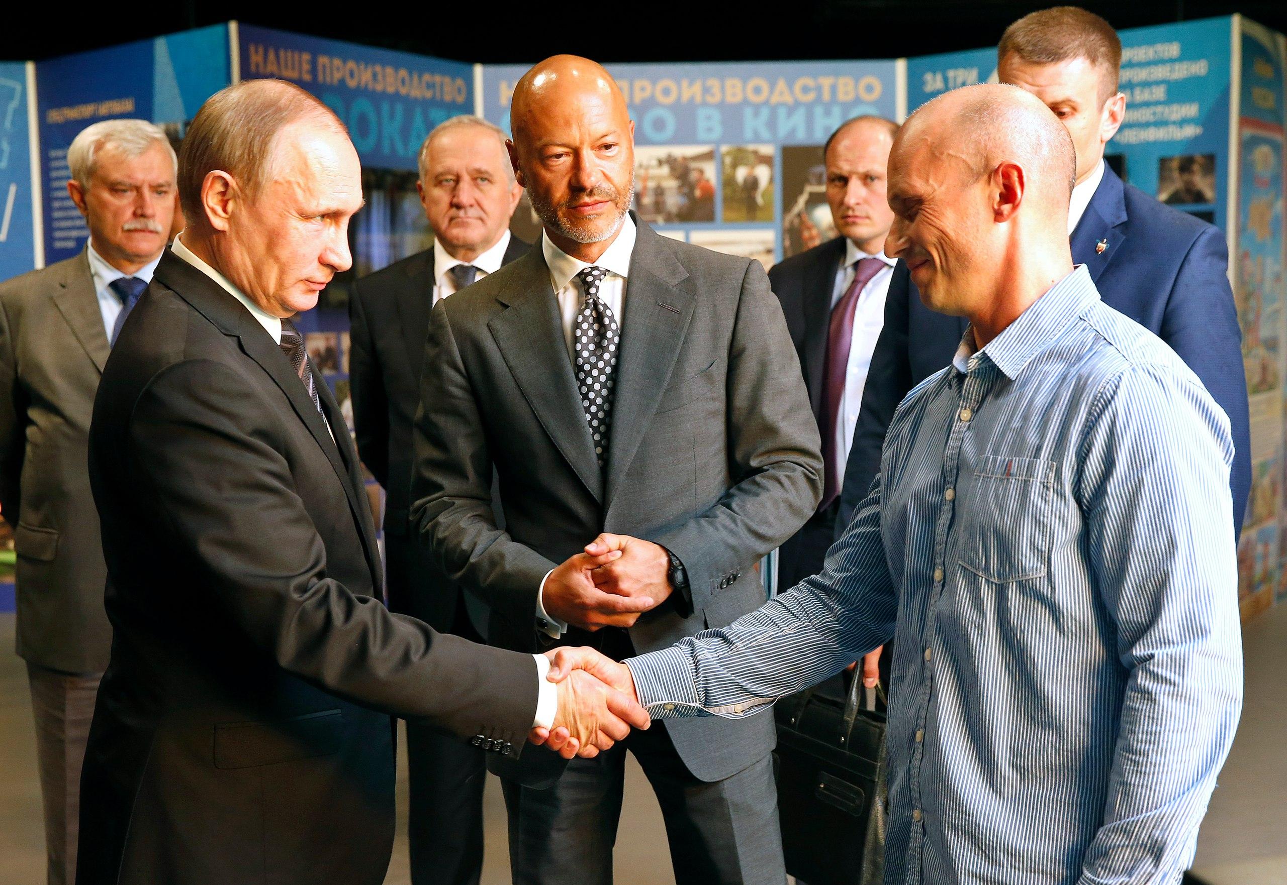 Владимир Путин и Андрей Шальопа
