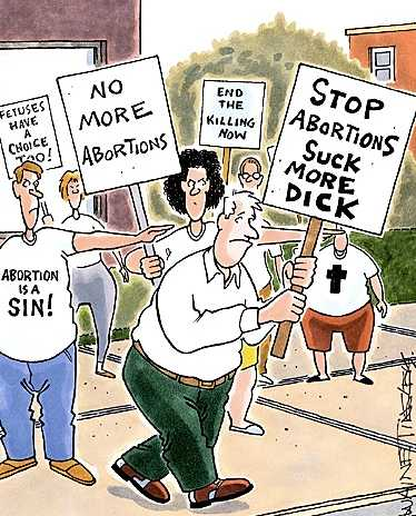 Нет - абортам!