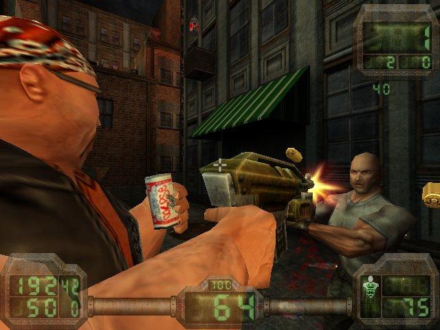 Gore: Не стреляй - мешаешь пиво пить!