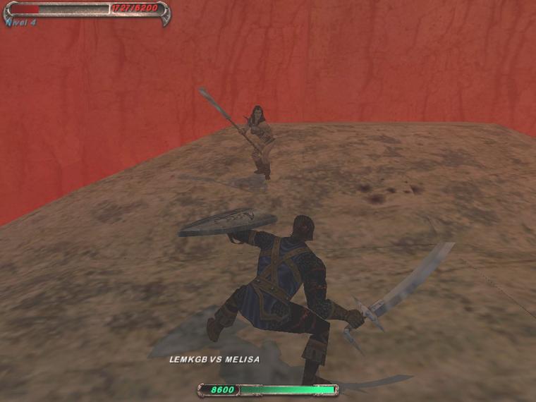 Blade: вперед вприсядку