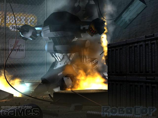 Robocop [PS2]  - яйцо