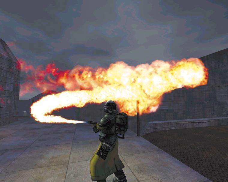 Вот это, я понимаю, огнемет!