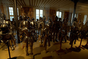 Запасники военного музея