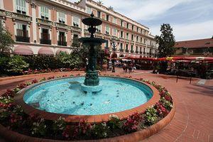Monacos fountain