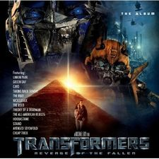 Обложка саундтрека «Трансформеров 2»