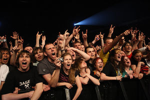 Фанаты на концерте Limp Bizkit (c) Олег Зотов