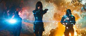 G.I. Joe — Rise of the Cobra, Сиена Миллер в атаке