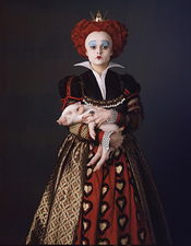 «Алиса в стране чудес» Бёртона — Красная королева Хелен Бонэм-Картер