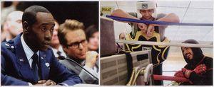 «Железный человек 2» — Дон Чидл/Сэм Роквелл и Джон Фавро/Роберт Дауни-мл.