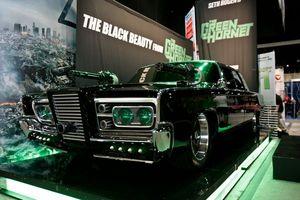 «Чёрная красавица» Зелёного шершня