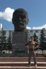 Голова Ильича в Улан-Удэ (с) Олег Зотов