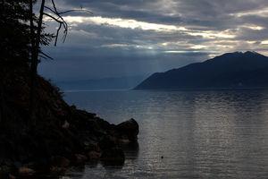 Байкальское утро на Ушканьих островах