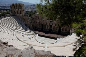 Заново отстроенный амфитеатр