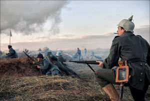Про атаку германской пехоты (с) onepamop