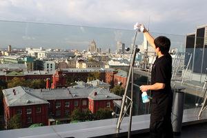 Подготовка к фотосессии на крыше Ритц-Карлтона