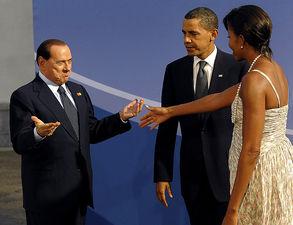 Берлускони и Обама