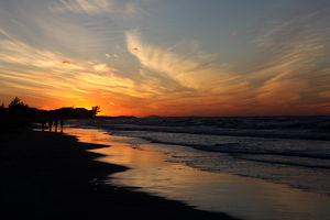 И ещё раз закат на Варадеро