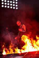 Гитарист в огне