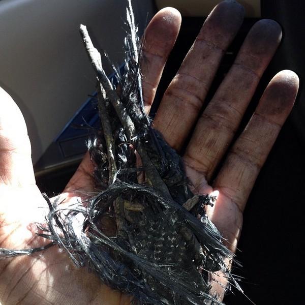 Фото обгоревшего пола уокера