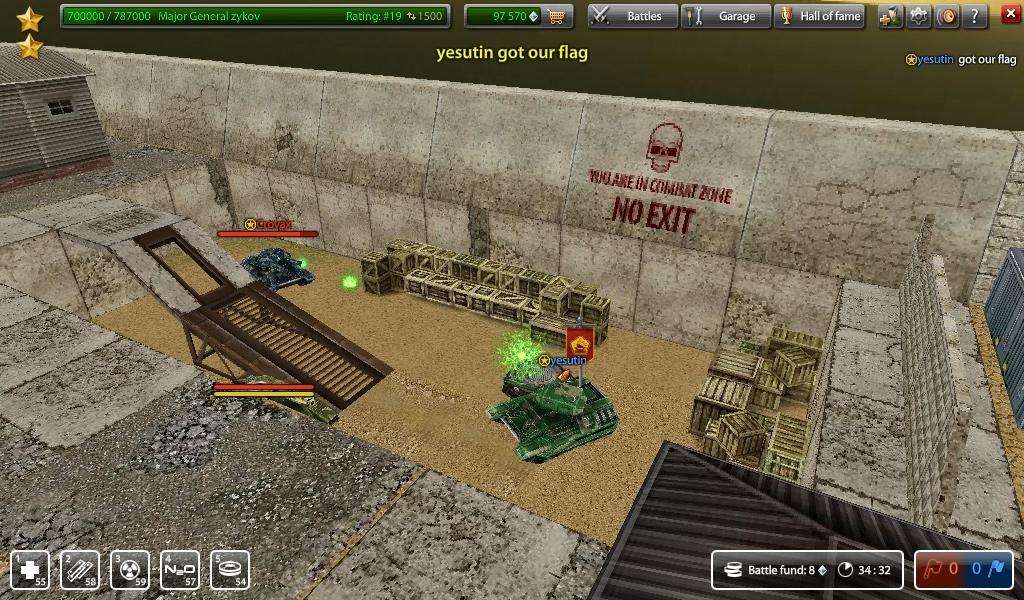 Как и в большинстве игровых проектов, в Танках Онлайн реализована система кланов.  Каждый клан борется с противниками...