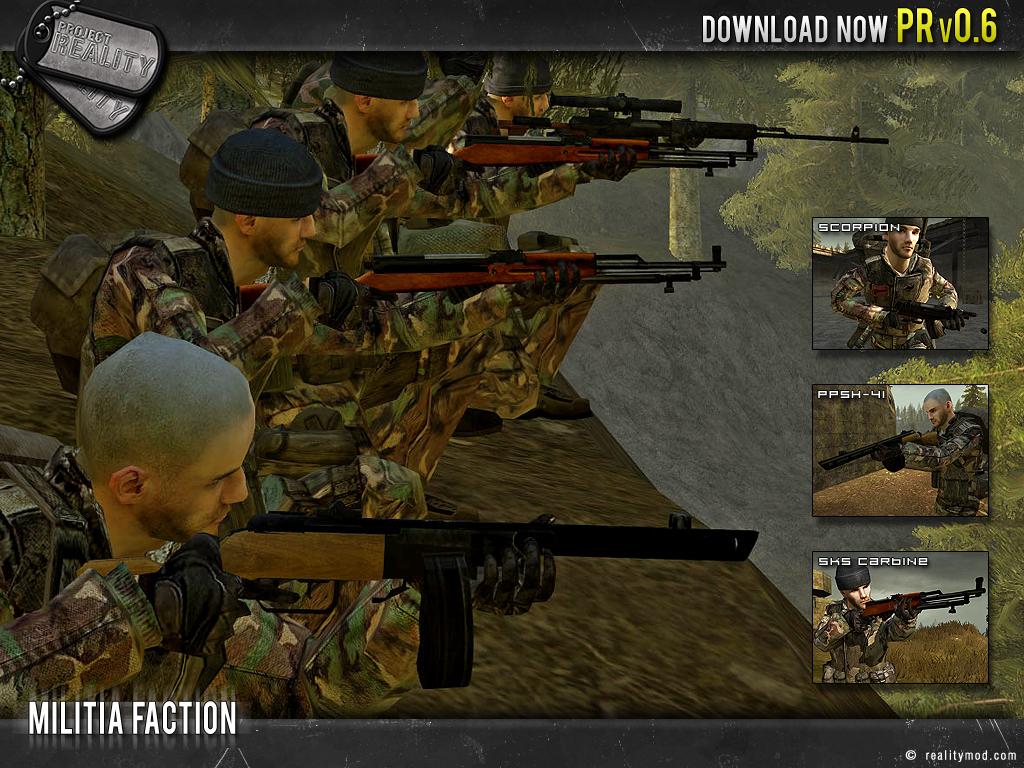 Скачать Мод Project Reality Для Battlefield 2 - фото 2