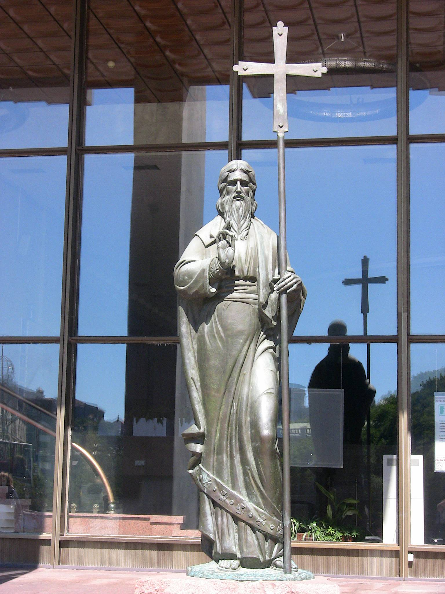Памятник с крестом на просвет Комсомольская заказ памятника на кладбище Владимир