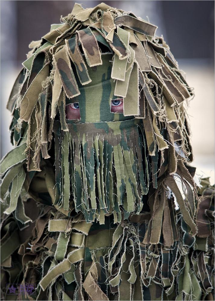 Как сделать костюм снайперов